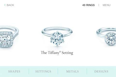 Drop the ultimate hint with the Tiffany  Co. engagement-ring finder ...