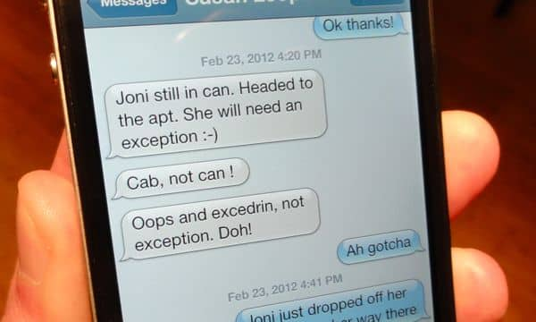 Send us your favorite iPhone auto-correct fail