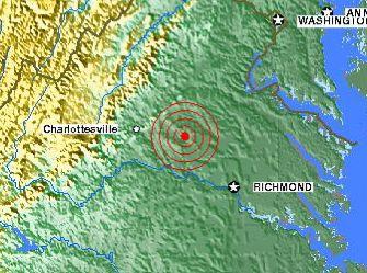 Earthquake East Coast