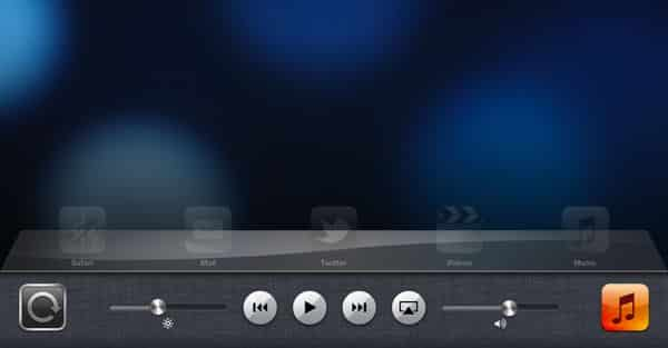 The iPad's hidden control panel revealed