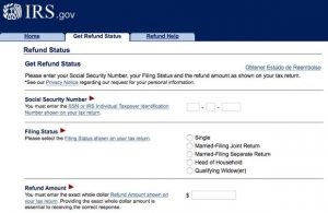 How to check the status of your IRS tax refund