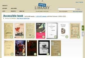 Open Library e books 300x205 How to find and transfer free e books to your Kindle (reader mail)