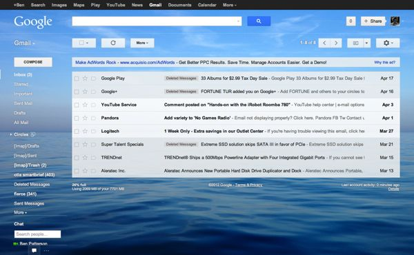 How to change the look of your new Gmail inbox