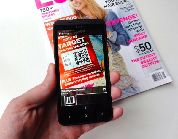 Scanning A Qr Code With An Android Phone Here S The Thing