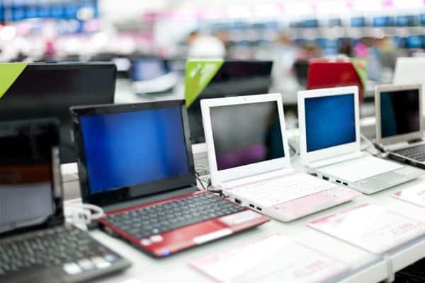 Shopping for laptops