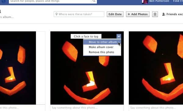 Facebook tip: How to move a photo from one album to another