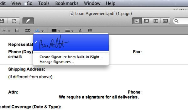 How to sign a PDF without a printer or a scanner