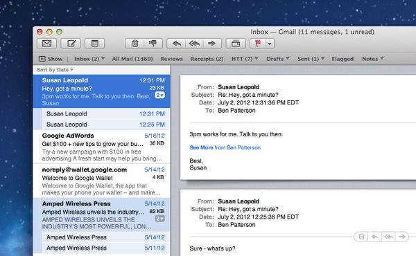 How to unthread your Mac mail conversations