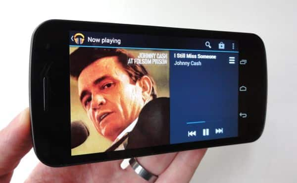 How to play iTunes music on an Android phone
