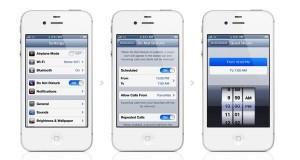 Do Not Disturb mode in iOS 6