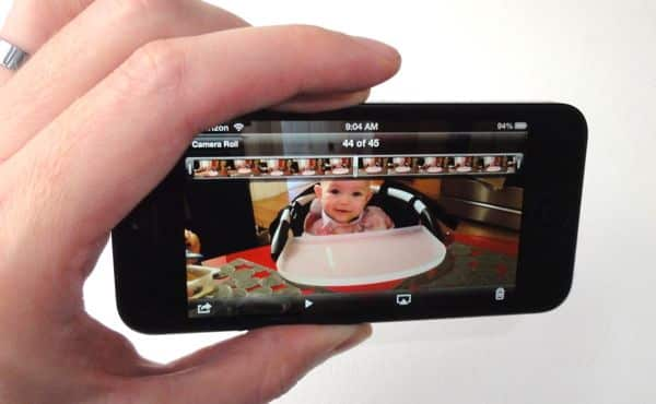 Taking a screen capture of a video
