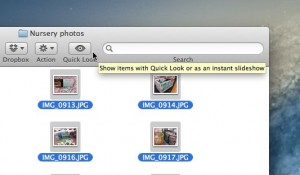 Quick Look button in Finder folder 300x175 Mac tip: 5 ways to take a Quick Look at a file