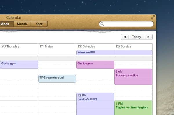 4 ways to customize your week in iCal