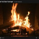 Create a YouTube Yule log video playlist