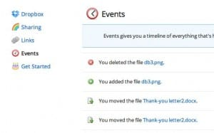 Dropbox events 300x187 Dropbox tip: How to restore a deleted or edited file