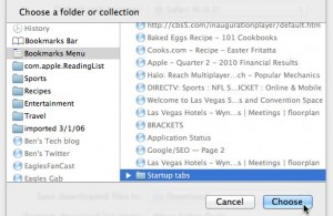 Safari startup tab settings 300x195 Mac/Windows tip: Set multiple home or start pages for your web browser