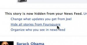 Facebook hide stories posted by apps