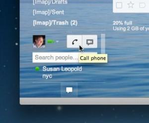 Gmail voice dialer