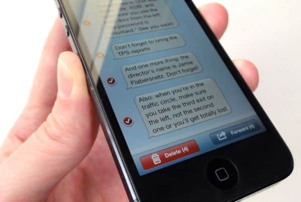 How to forward text messages from an iPhone to email iPhone tip: How to forward text messages to your email account