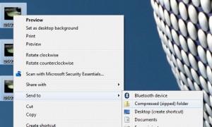 Windows zip archive