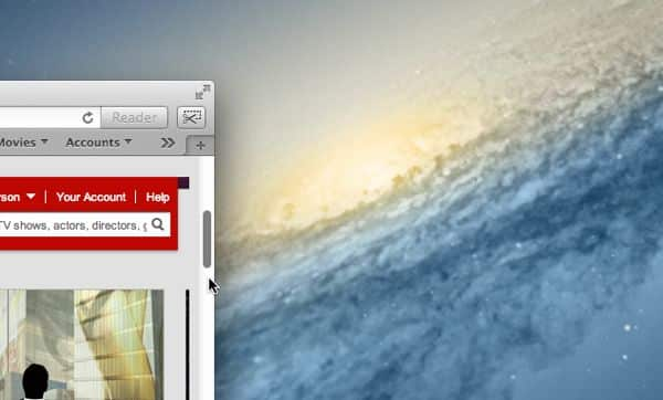 How to get scroll bars back on a Mac