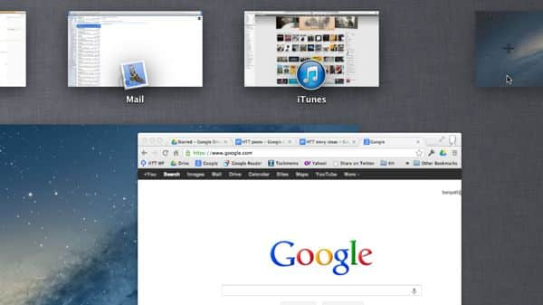 Create a new Mac Mission Control desktop