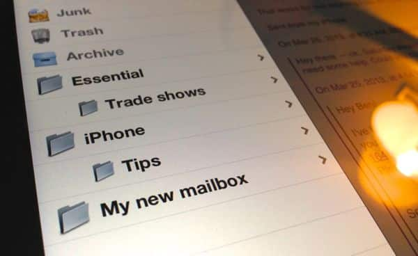 Create new mailbox on iPhone or iPad iPad/iPhone tip: How to create new email folders (reader mail)