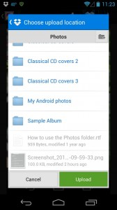Dropbox for Android 168x300 Android/iPhone tip: How to sync photos to your Dropbox