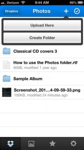 Dropbox for iPhone 169x300 Android/iPhone tip: How to sync photos to your Dropbox