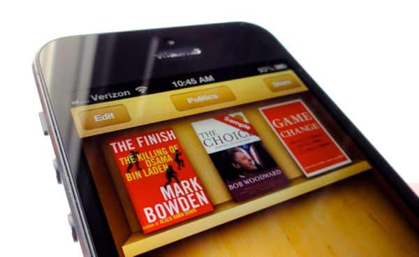 iPad/iPhone tip: How to create new collections for your iBooks