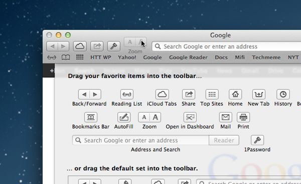 Mac tip: How to customize the buttons in program toolbars