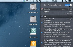 Pause notifications on your Mac