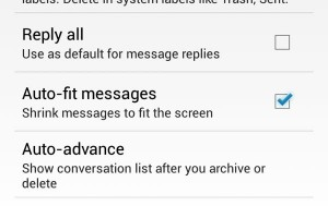 Gmail for Android auto-fit setting