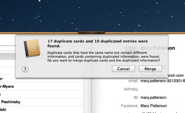 How to dedupe contacts on your Mac Mac tip: How to find and merge duplicate contacts
