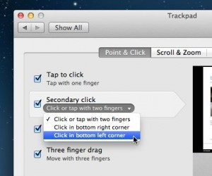 Mac right click options 300x250 Mac tip: 4 ways to right click on a Mac trackpad