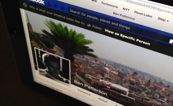 View your Facebook timeline as others see it Facebook tip: View your timeline as others see it