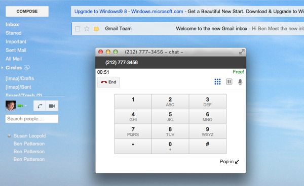 Gmail tip: How to get the Google Voice dialer (and free phone calls) back