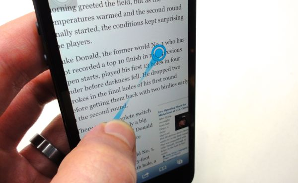 iPhone/iPad tip: Pinch or swipe the screen without actually pinching or swiping