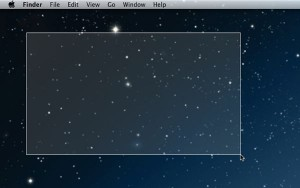 Take a screenshot of a selected area of your Mac desktop 300x188 Mac tip: 4 ways to take a screenshot