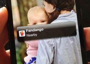 iPhone Passbook banner
