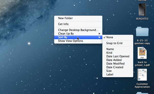 Mac tip: Keep your Mac from rearranging your desktop