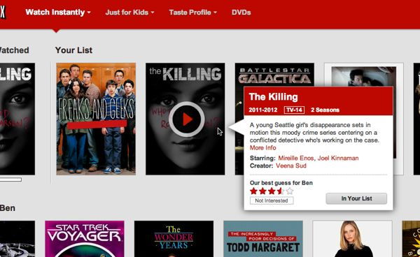 Netflix My List feature Netflix tip: Your Instant Queue just turned into My List