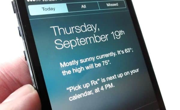 iOS 7 tip: How to get the weather back in Notification Center