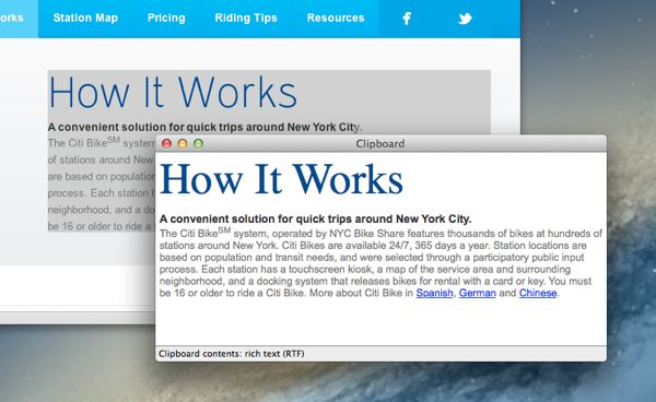 Mac tip: How to see what's on the clipboard