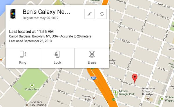 Android tip: Track your lost phone with Android Device Manager