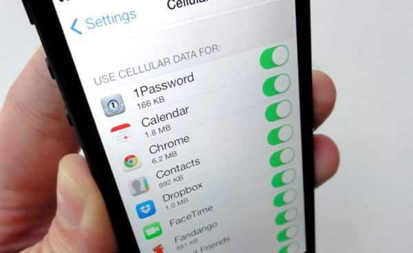iOS 7 tip: Block data-hogging apps from using cellular data
