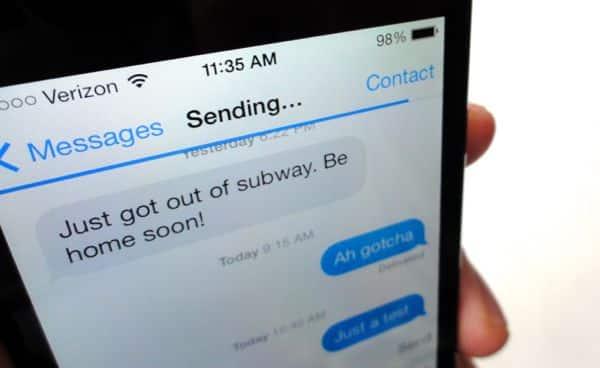 iOS 7 tip: Send a stuck iMessage as a text message