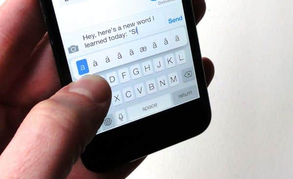 iOS 7 tip: 8 typing tips you need to know