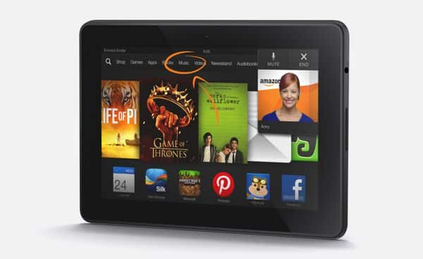 Want a chance to win a 7-inch Kindle Fire HDX tablet? (update: contest over)