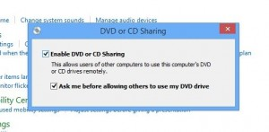 Windows Remote Disc settings
